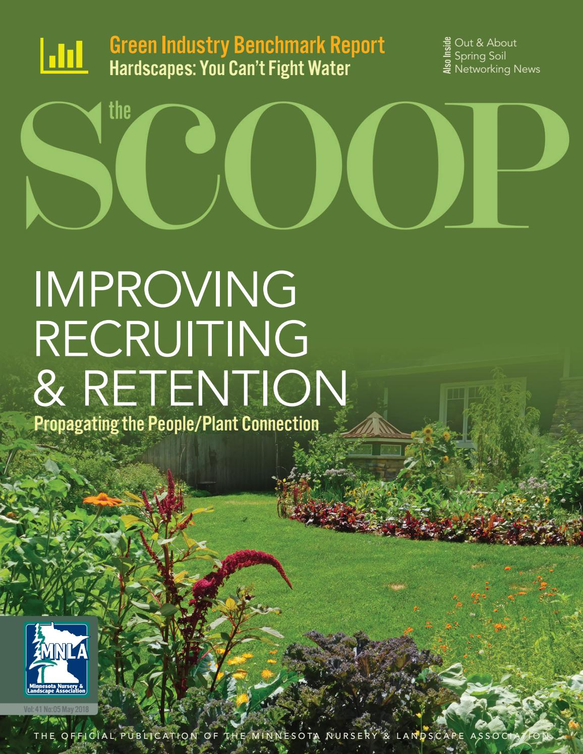 The Scoop Online May 2018 By Minnesota Nursery Landscape