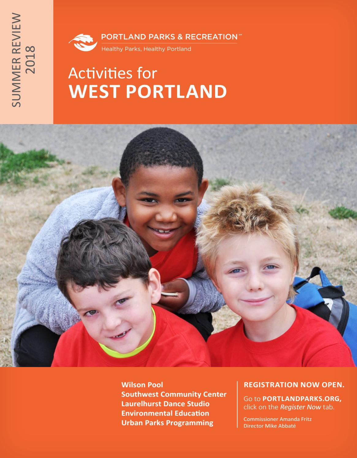 Southwest Community Center Summer Review 2018 By Portland Parks Step 3 Weaving The Relay Modules With Dancing Lights Recreation Issuu