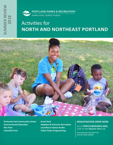 Peninsula Park Community Center - Summer Review 2018 by