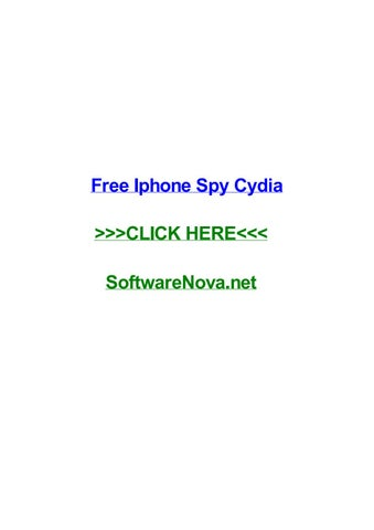 cydia free spy apps