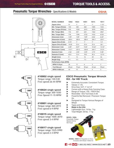 Page 49 of Torque Tools & Accessories