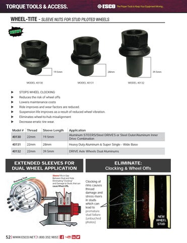 Page 52 of Tire Tools & Accessories