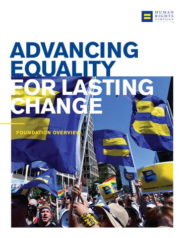 Hrc Foundation Overview By Human Rights Campaign Issuu
