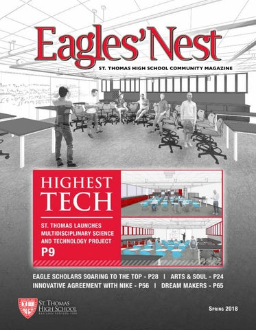 48a8fb2befd St. Thomas Eagles  Nest Spring 2018 by STHCatholic - issuu