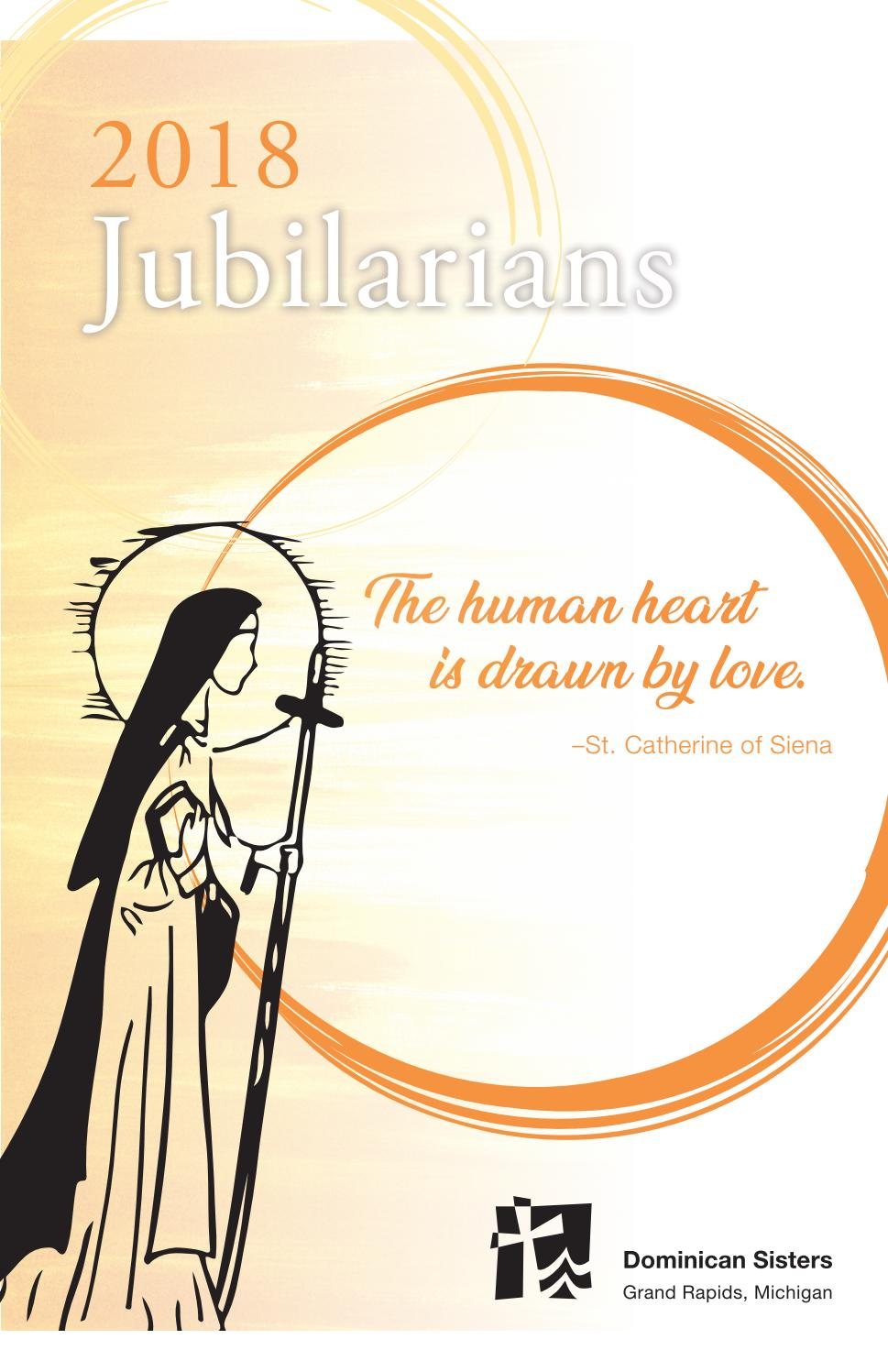 Dominican Sisters Grand Rapids 2018 Jubilarian Booklet By Dominican Sisters Grand Rapids Issuu