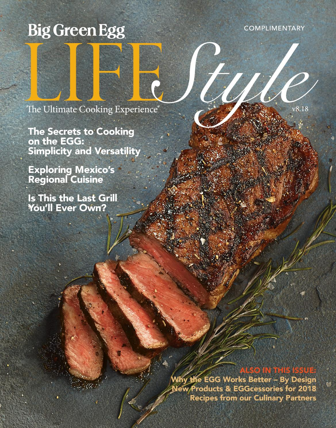 Big Green Egg Lifestyle Magazine V8 18 by Big Green Egg - issuu