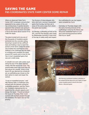Page 3 of State Farm Center Repairs