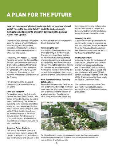 Page 6 of Campus Master Plan Update