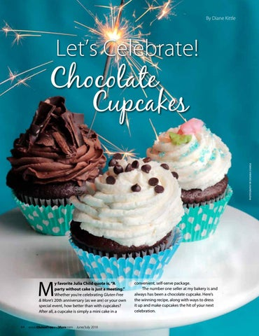 Page 11 of Let's Celebrate! Chocolate Cupcakes