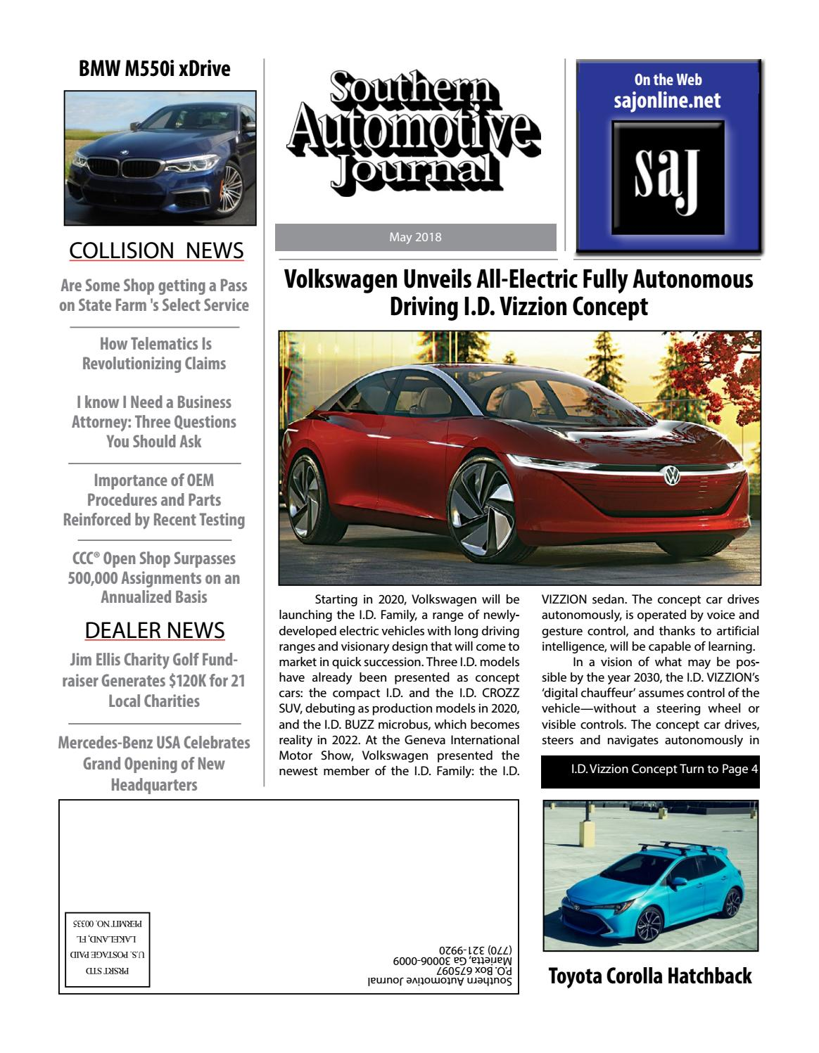 Southern Automotive Journal May 2018 Issue by Southern Automotive