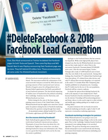 Page 18 of #DeleteFacebook & Facebook lead generation