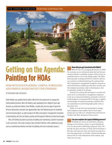 Page 32 of How one painting contractor got on the A-list for HOAs