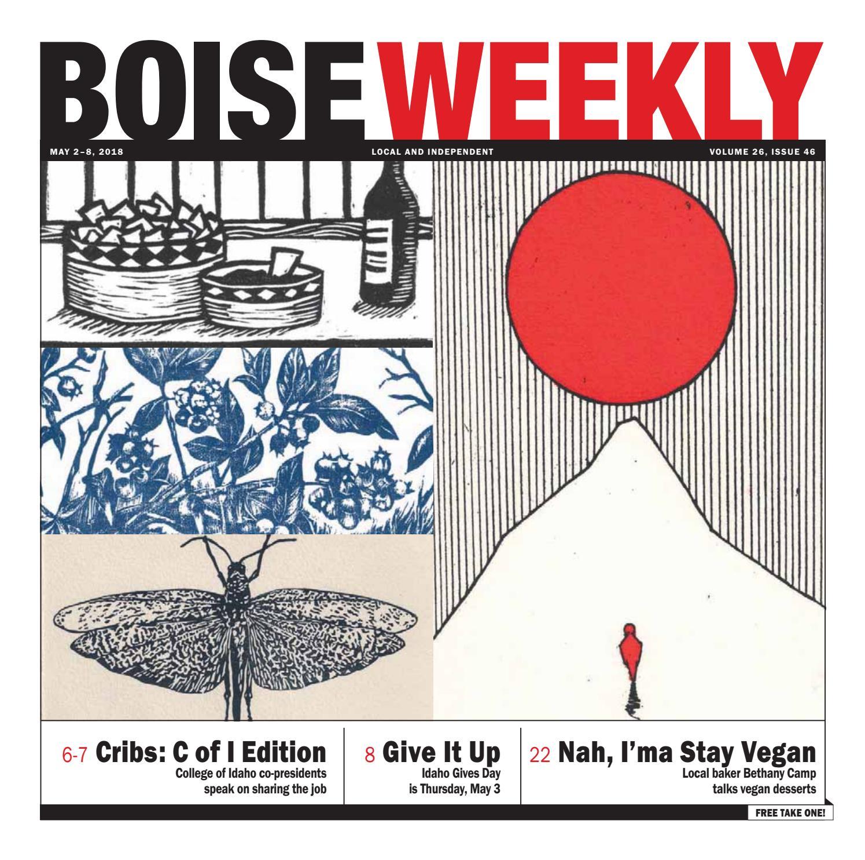 Boise Weekly Vol  26 Issue 46 by Boise Weekly - issuu
