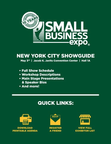 New york showguide 2018 by Small Business Expo - issuu