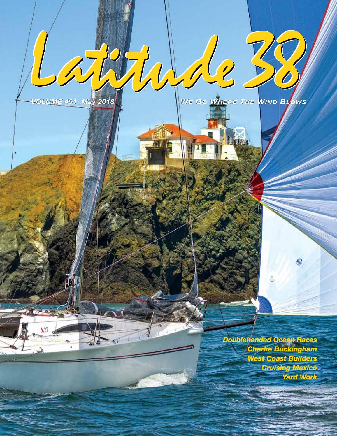 Latitude 38 May 2018 By Media Llc Issuu Ships Tall Google Search Book Covers Diagrams Bloody