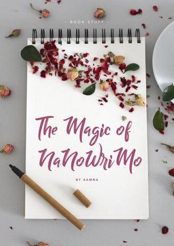Page 18 of Writer's Corner: The Magic of NaNoWriMo