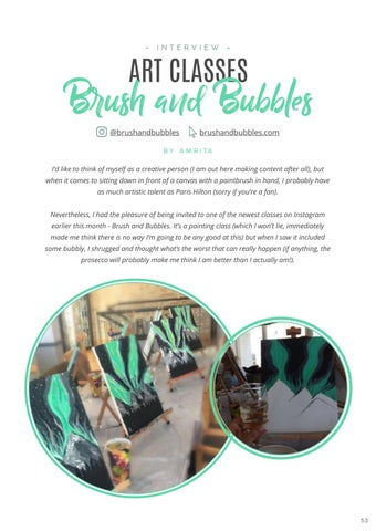Page 55 of Interview: Brushes and Bubbles