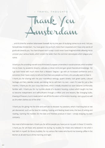 Page 64 of Thank You Amsterdam, from M'guila