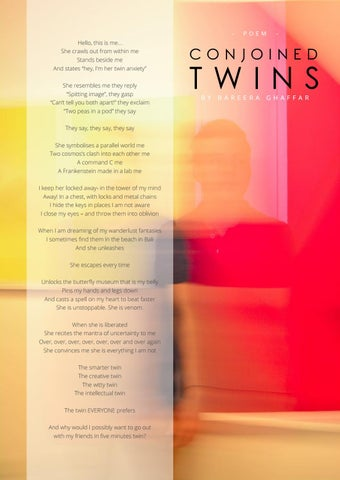 Page 85 of Poetry: Conjoined Twins