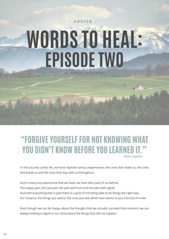 Page 98 of Words to Heal: Episode Two