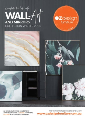 Wall Art And Mirrors Catalogue Winter Design Furniture Issuu