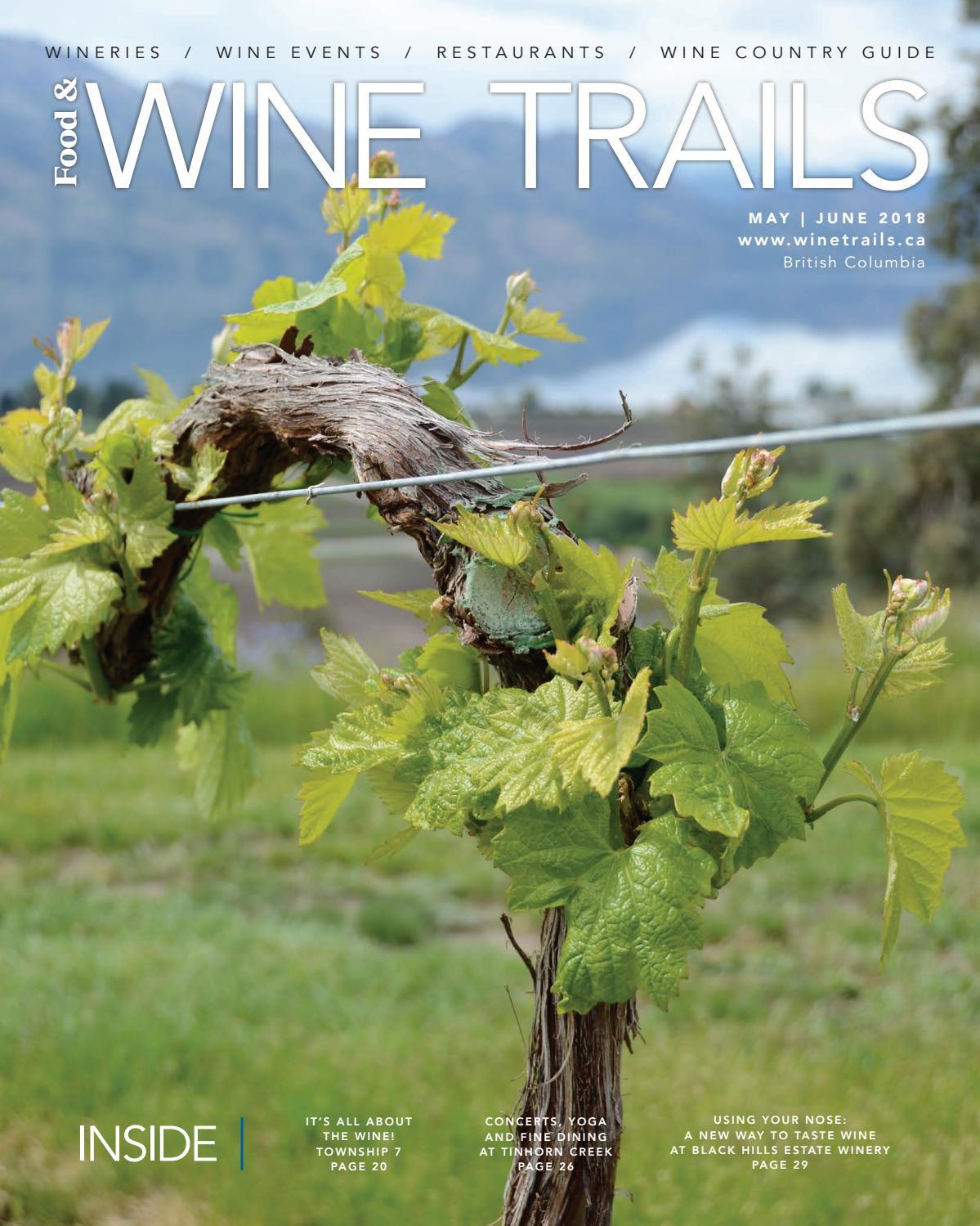 db237358c7f Food   Wine Trails - May June 2018 by BC Food   Wine Trails Magazine ...