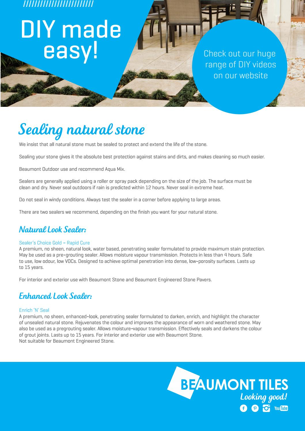 Seal outdoor by Beaumont Tiles - issuu