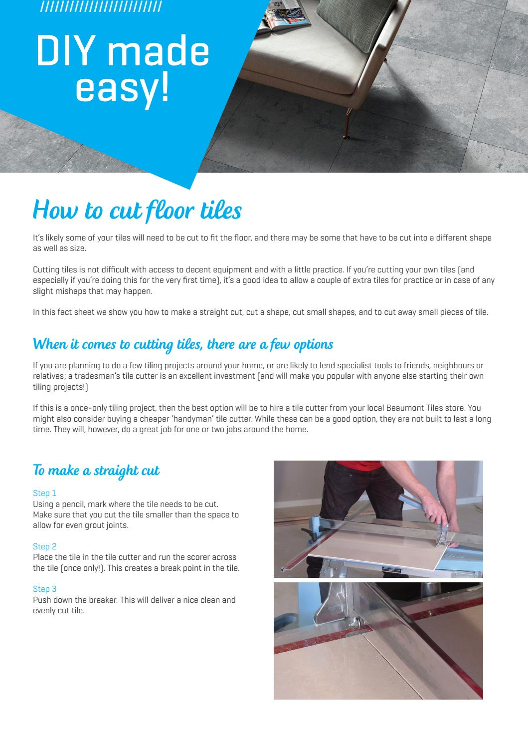 Main Floor Cut By Beaumont Tiles Issuu