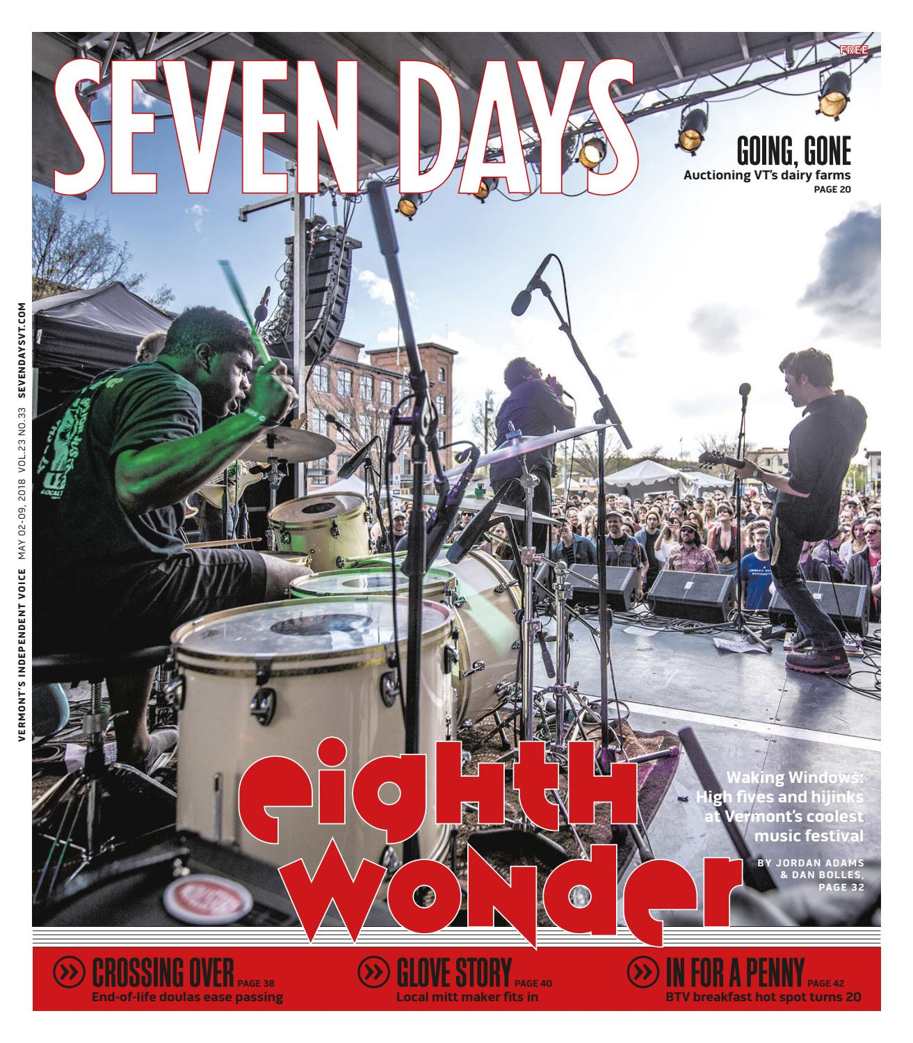 Seven Days, May 2, 2018 by Seven Days - issuu