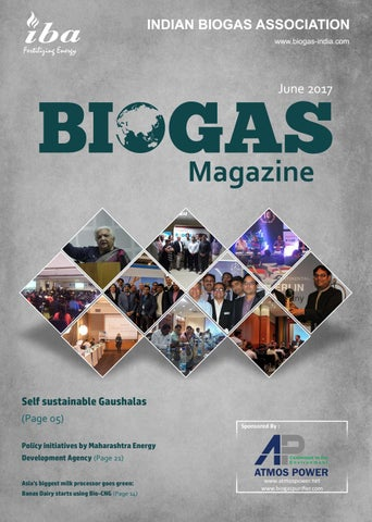 IBA Biogas Magazine Edition 02 by biogas-india - issuu