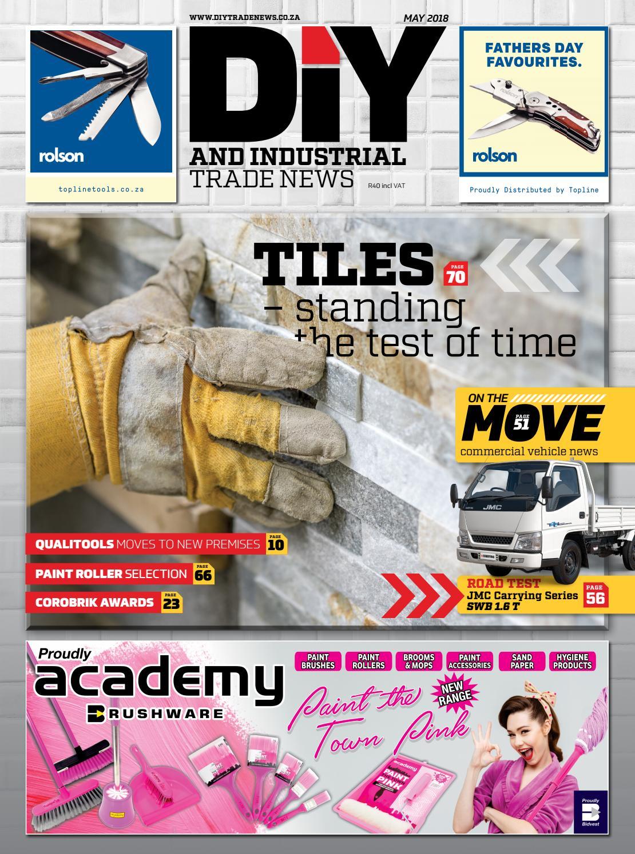 diy and industrial trade news - may 2018new media publishing b2b