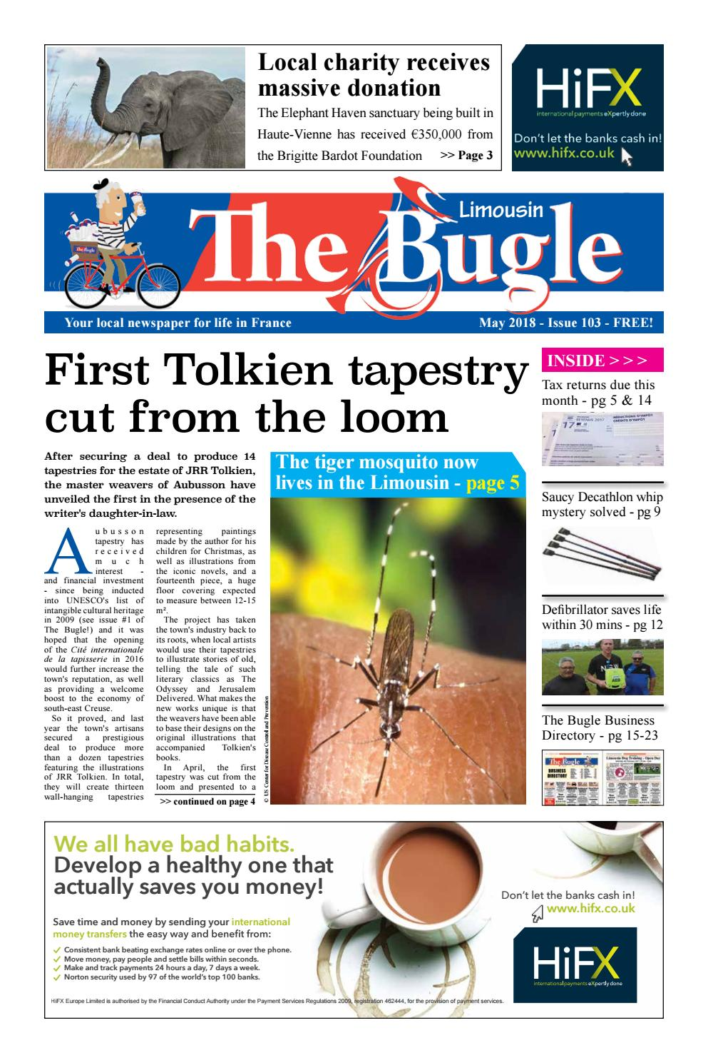The Bugle Limousin May 2018 By The Bugle Issuu