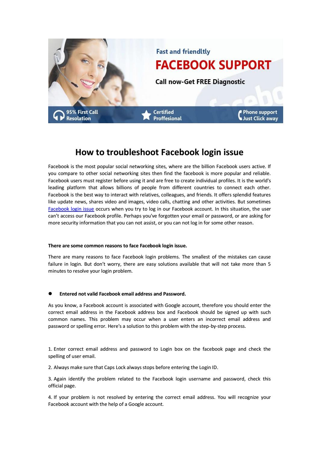 How to troubleshoot facebook login issue2 by carter lee - issuu