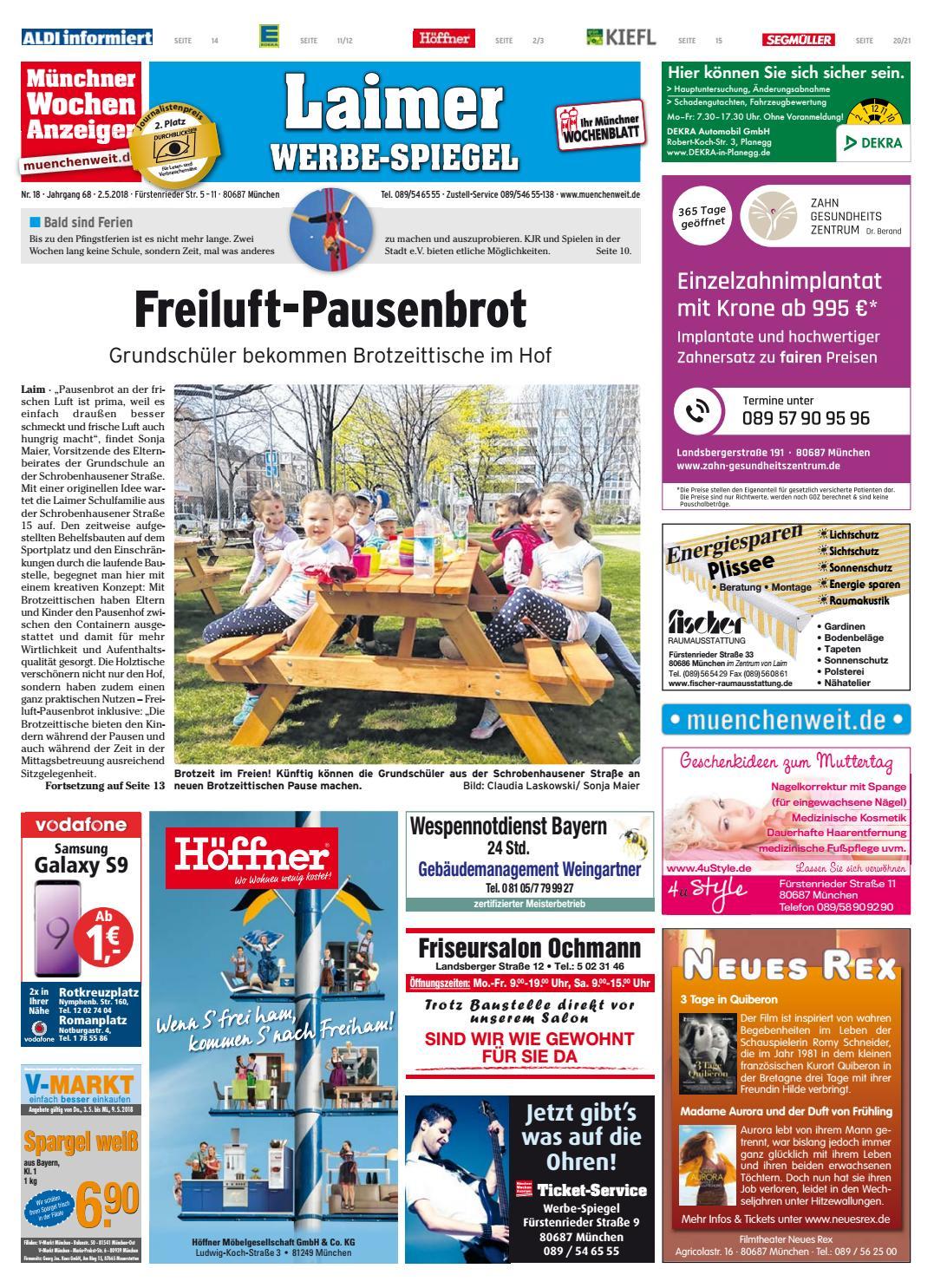 KW 18-2018 by Wochenanzeiger Medien GmbH - issuu