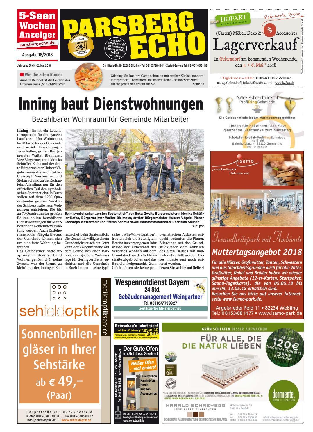 KW 18 2018 By Wochenanzeiger Medien GmbH   Issuu