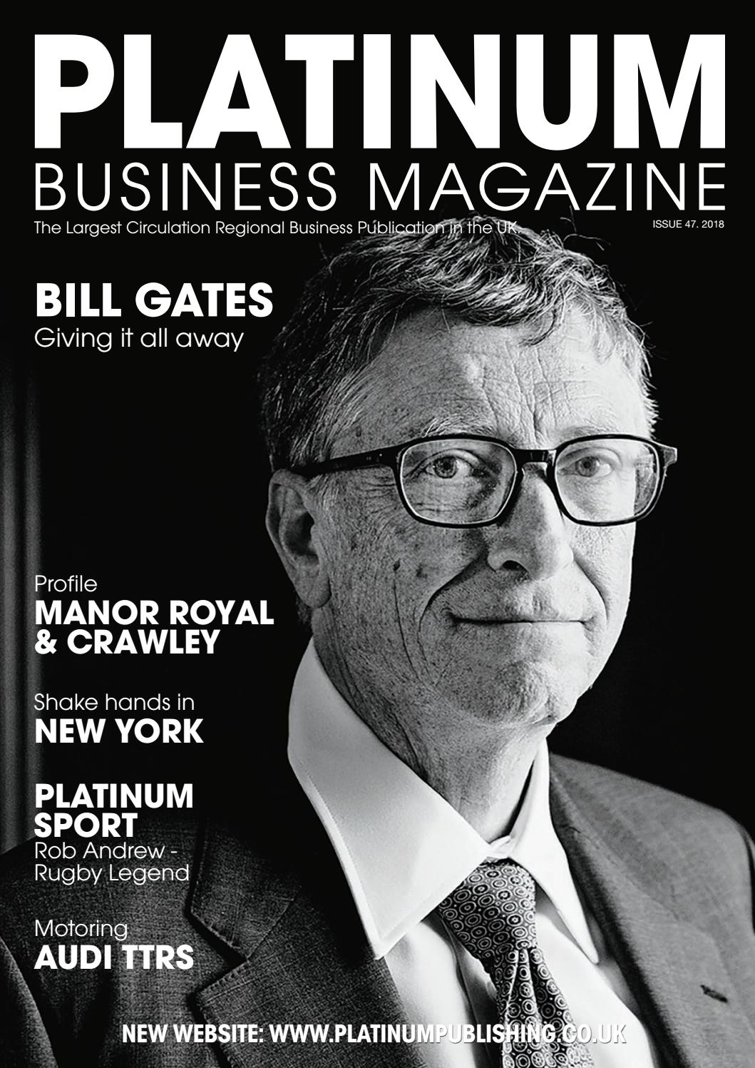 Platinum Business Magazine issue 47 by Platinum Business - issuu 7bb7ef1c21c7