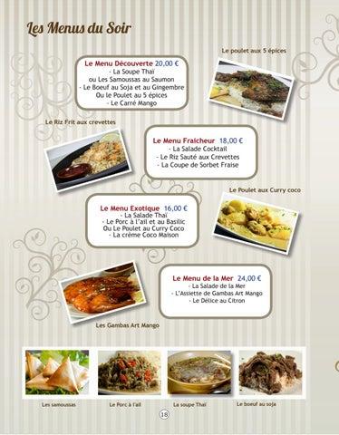 Page 18 of Les Plats à la Carte
