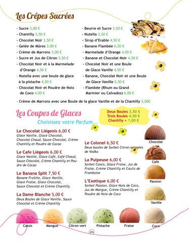 Page 26 of Les Desserts