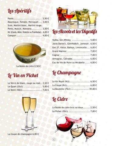 Page 2 of Les Boissons Alcoolisées