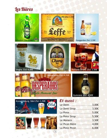 Page 3 of Les Boissons Alcoolisées