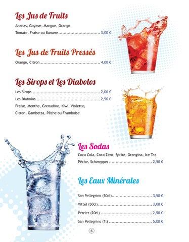 Page 6 of Les Boissons Sans Alcool