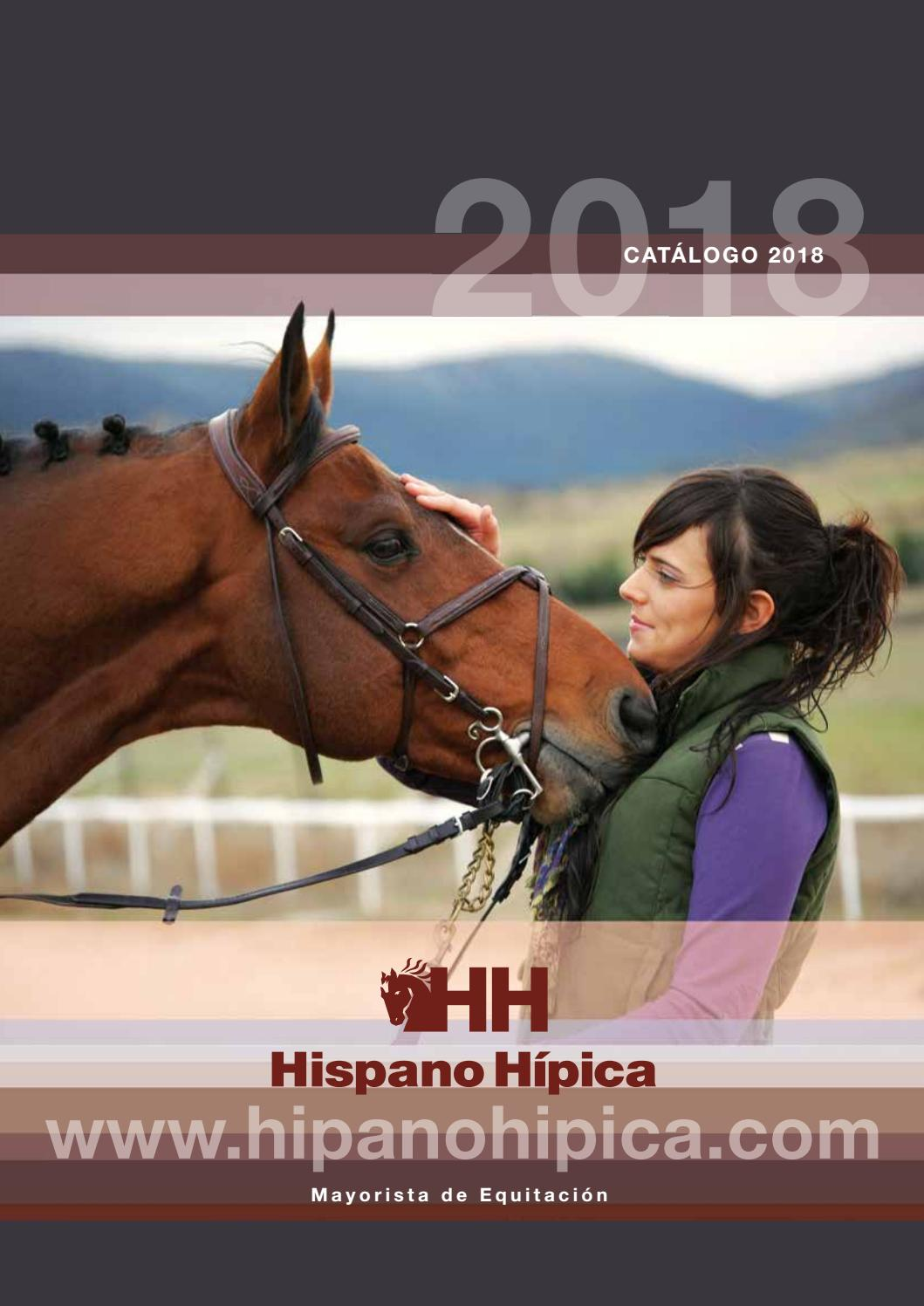 73998d1eb Catalogo 2018 by Hispano Hípica - issuu
