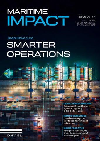 87e26e2b9 Maritime Impact 02-2017 by DNV GL - issuu
