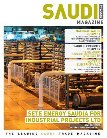 Saudi Projects Magazine Issue 39 by tpg publishing - issuu