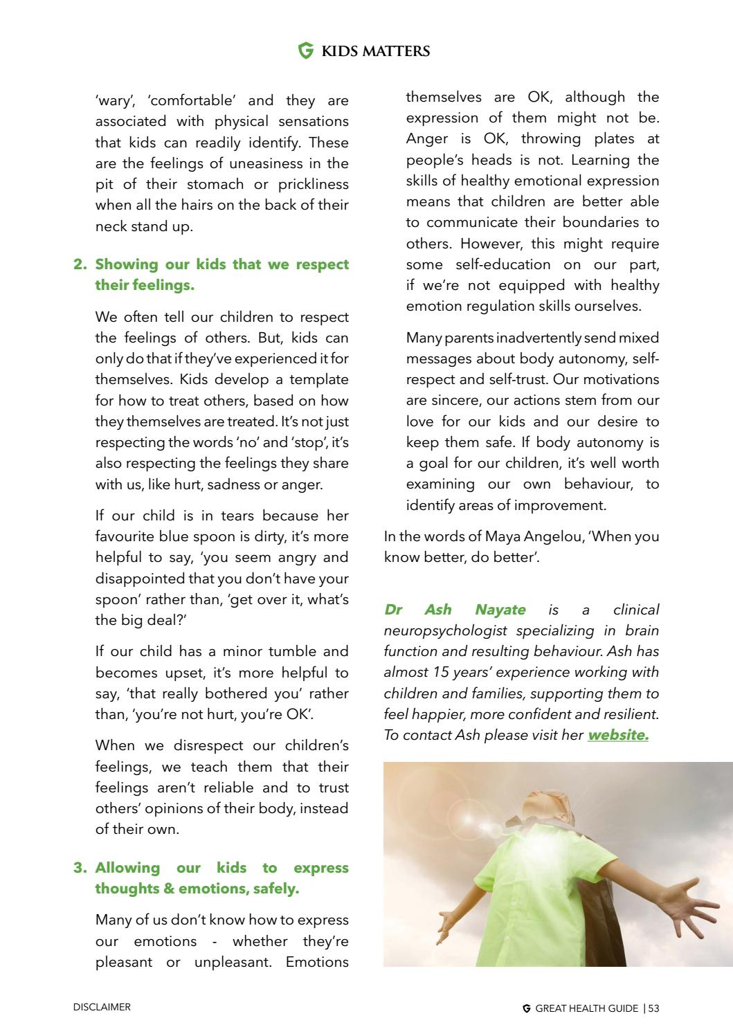 Great Health Guide: May June 2018 by Great Health Guide - issuu