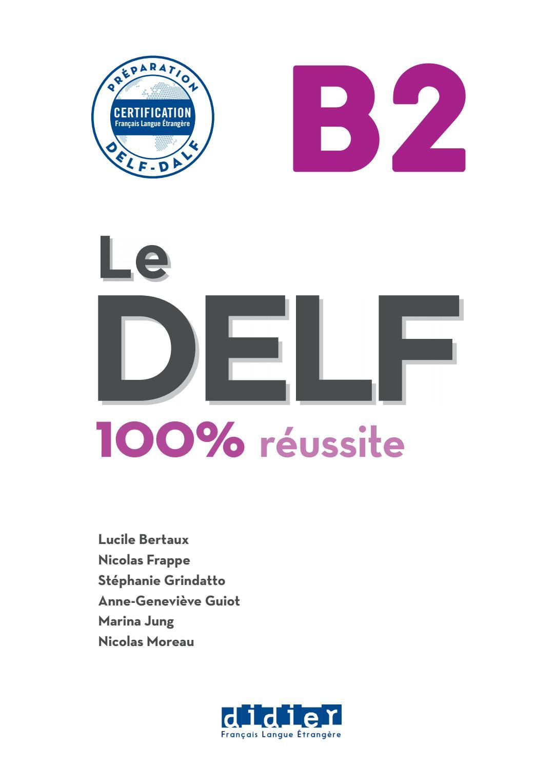 Delf B2 100 By Mu Lan Issuu
