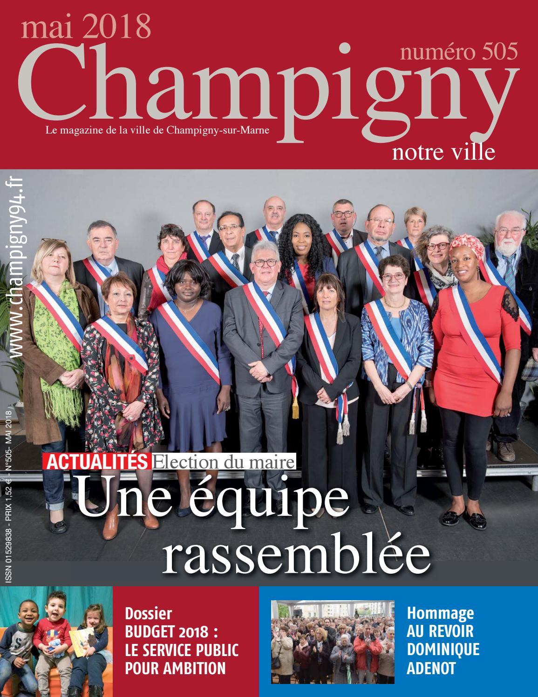Champigny notre ville n° 505 - mai 2018 by N R - issuu c9138a58ddc