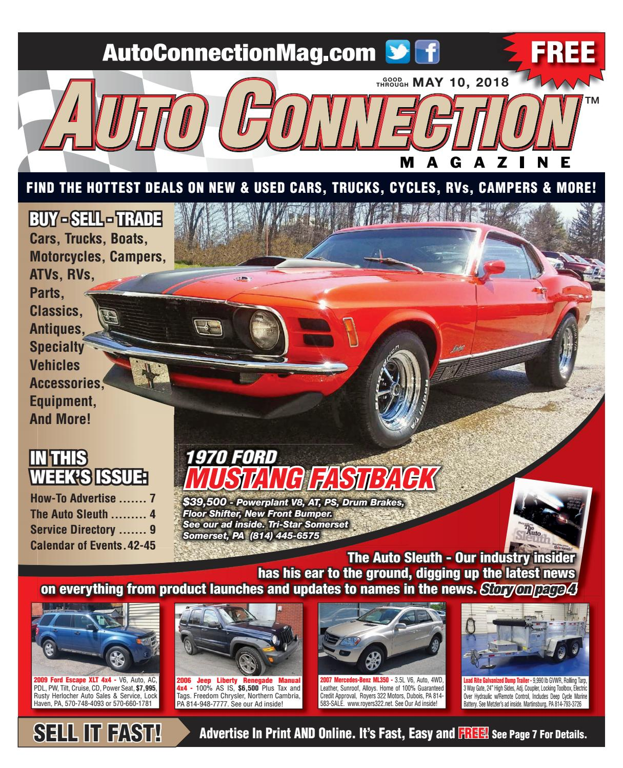 05-10-18 Auto Connection Magazine by Auto Connection Magazine - issuu
