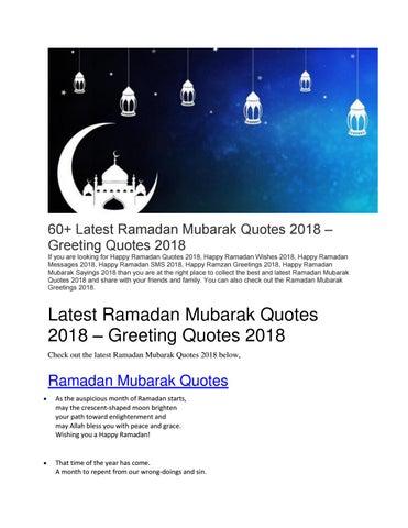 latest ramadan mubarak quotes greeting quotes by