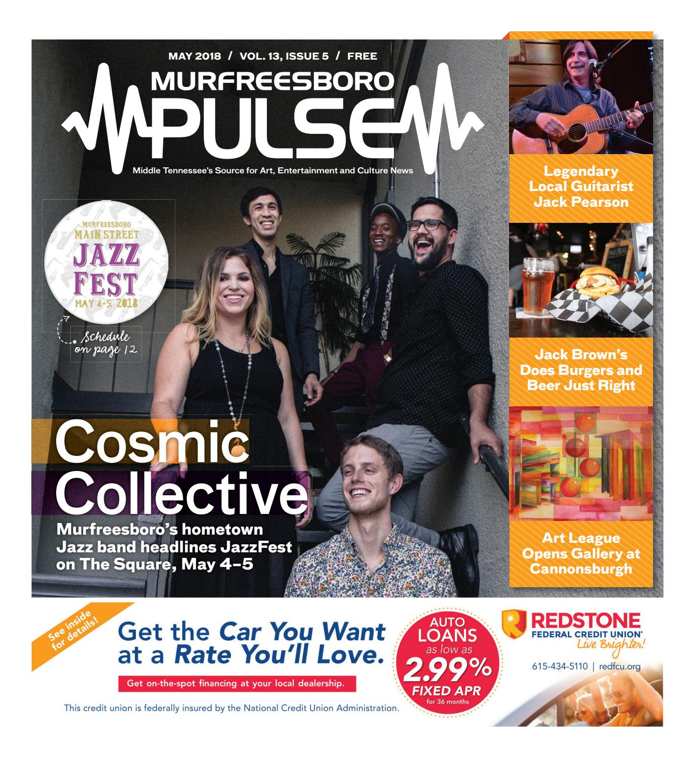 May 2018 Murfreesboro Pulse by The Murfreesboro Pulse - issuu